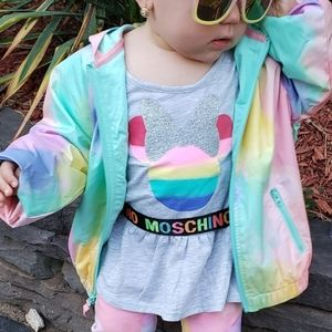 Rainbow Minnie Mouse Set
